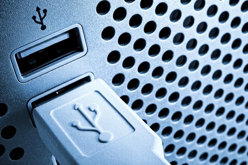 Connect Desktop Scanner to USB