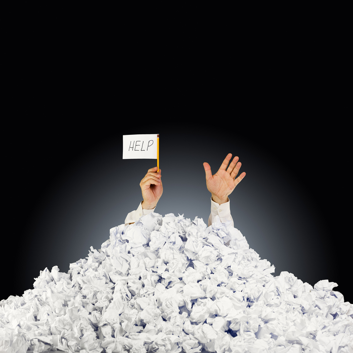 Buried in Paper