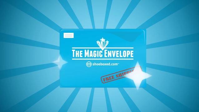 Shoeboxed Magic Envelope